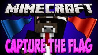 Minecraft CAPTURE THE FLAG Server Minigame