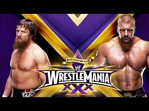 WWE WrestleMania 30 - Daniel Bryan vs Triple H