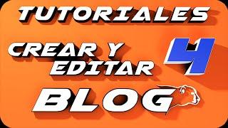 Como crear un blog en Blogger 2014  y editarlo. Parte 4