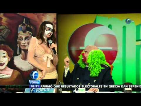 LA REATA DE BROZO COMO PRINCESA TIBETANA 18-06-2012
