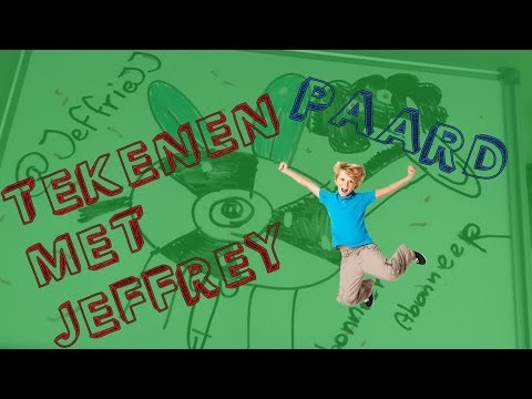 Tekenen met Jeffrey: Paard