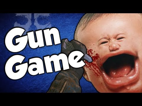 REPORTED! (Gun Game Reactions - Call of Duty: Ghosts)