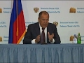 Russian FM Lavrov Speaks After White House Visit