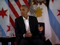 Obama Says Youth Key to His Presidential Center