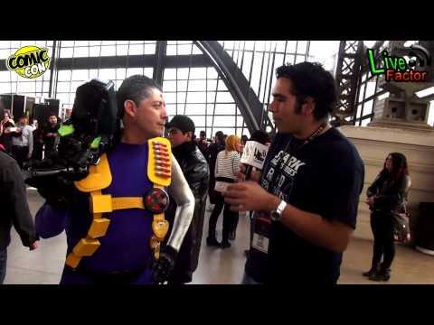 Comic Con Chile 2014 - Primer Cable en Sudamérica.