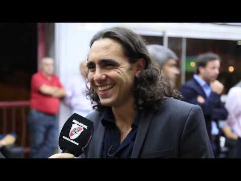 Juan Pablo Sorin, homenajeado por River y Cruzeiro