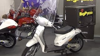 Piaggio Liberty 4Tempi BigPizza Exterior and Interior in 3D ...