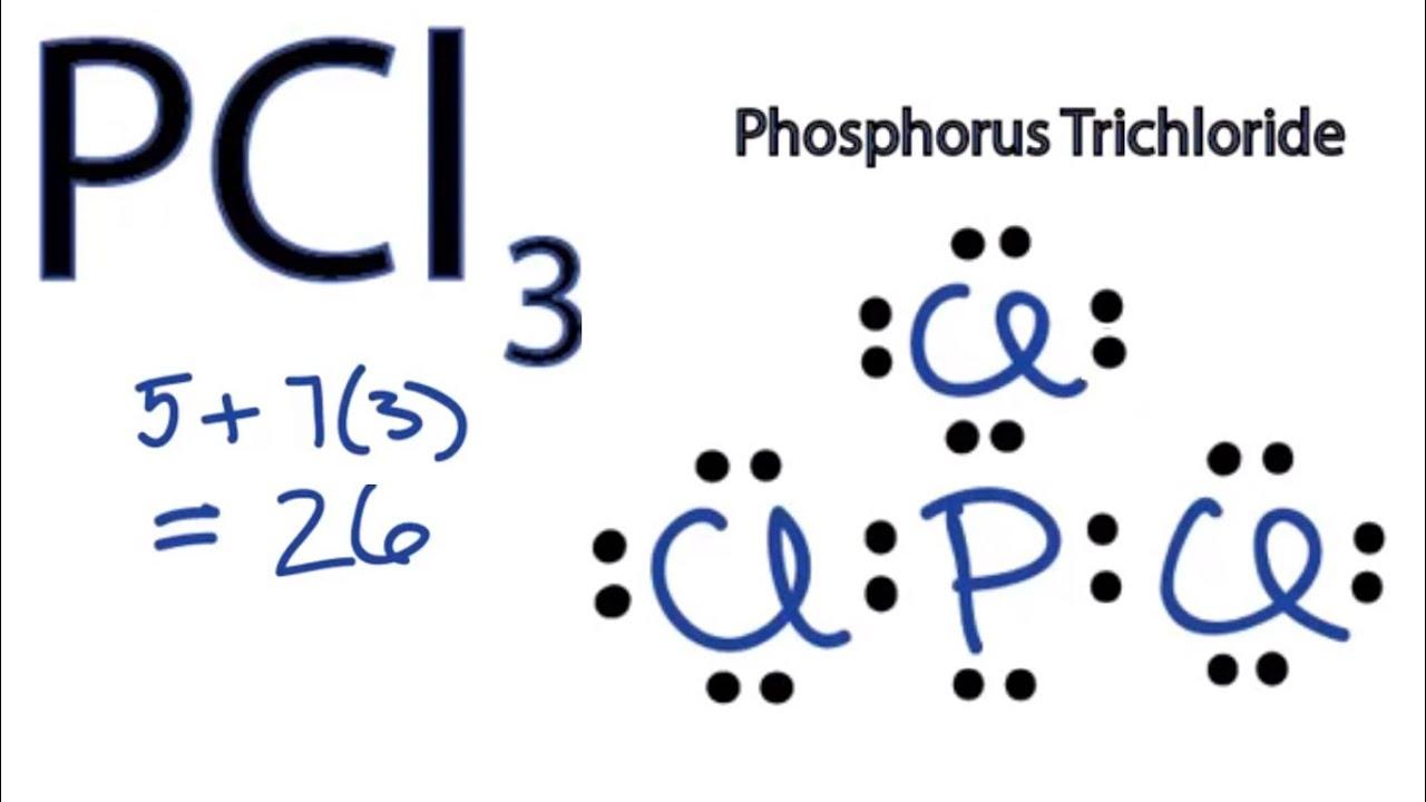 Pcl3 Lewis Structure