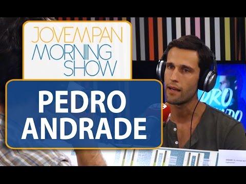 Pedro Andrade fala sobre sua visão do Brasil em relação a outros países | Morning Show