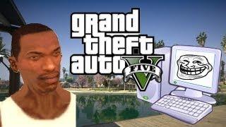 CJ Mira El Official Trailer #2 De GTA V GTA San Andreas