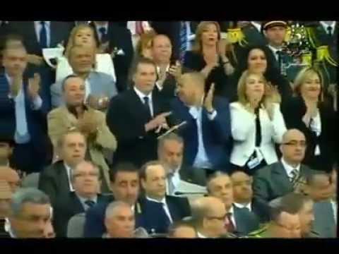 Bouteflika prête serment pour son 4e mandat