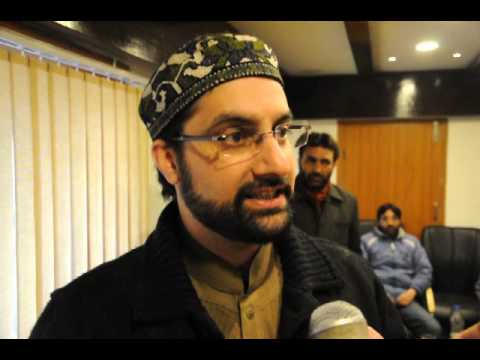 All Parties Hurriyat Conference Chairman Mirwaiz Umar Farooq speaking on Local Encounter.