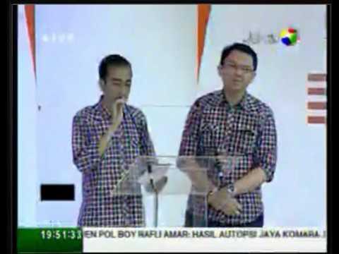 Segmen 1 (Infrastruktur) Debat calon Gubernur DKI Jakarta Putaran Kedua