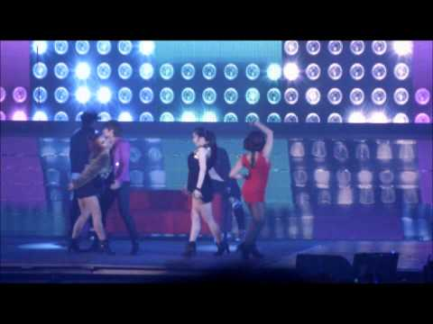 6/4/12 SUPER JUNIOR SS4 PARIS RYEOWOOK MOVES LIKE JAGGER FULL SOLO [FANCAM]