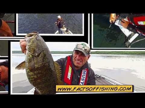 Fall Junk Fishing for Football Sized Smallmouth Bass - Dave Mercer's Facts of Fishing Tip Series