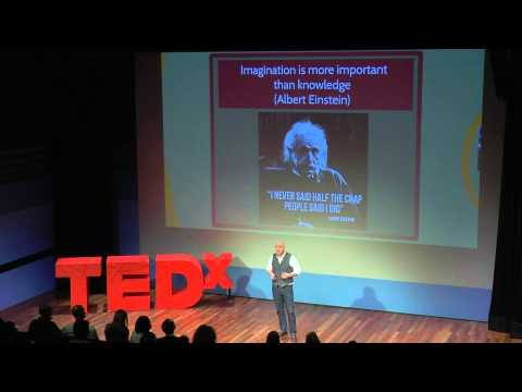 Why Our World Needs Science Fiction: Etienne Augé at Your TEDxErasmusUniversity