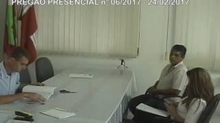 Licitações - Pregão nº006 2017 - 24/02/2017 - SAMAE
