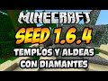 "Seeds para Minecraft 1.6.2 ""6 Diamantes y un Nether Troll"""