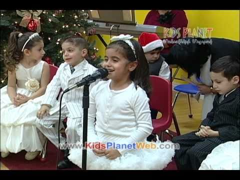 Kids Planet Armenian Preschool -- New Year Show 2011 -- Part 1