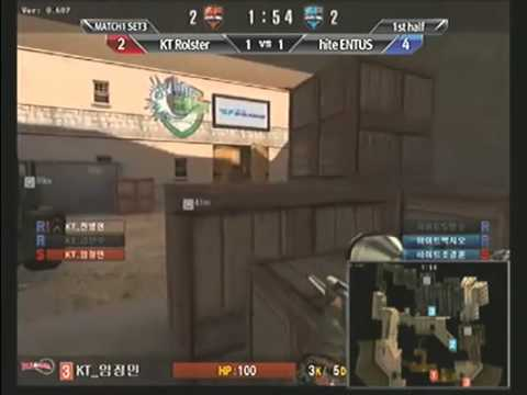 [KSF] SF Pro League 2011 1st Pre Match E02 Part 03