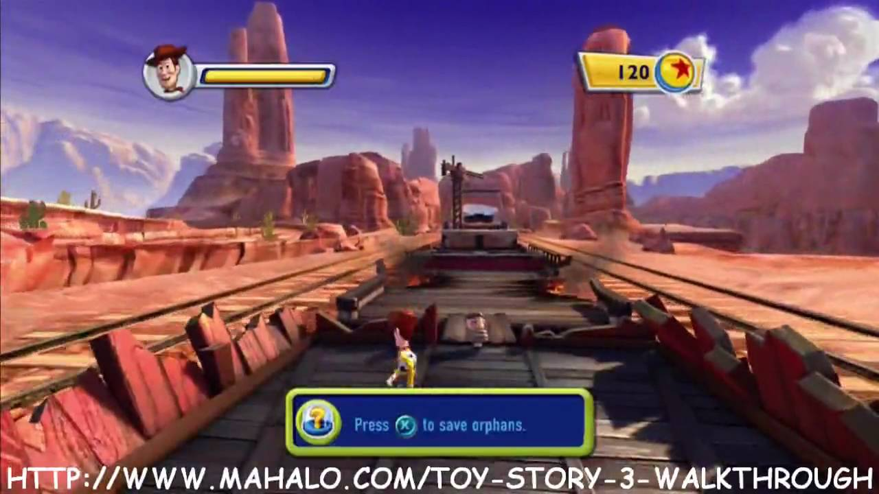 Toy Story 3 Train Games : Toy story walkthrough train rescue youtube