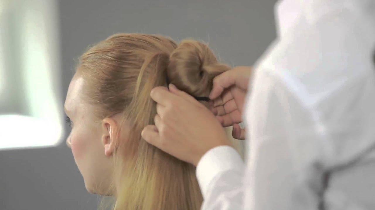 how to make the perfect hair bun