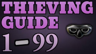 1-99 Thieving Guide Runescape 2014 UPDATED Fastest