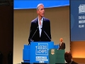 Obama Addresses Food Policy Event in Italy