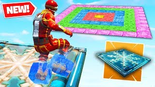 FREEZE TRAP DARTS Custom Gamemode In Fortnite Battle Royale!