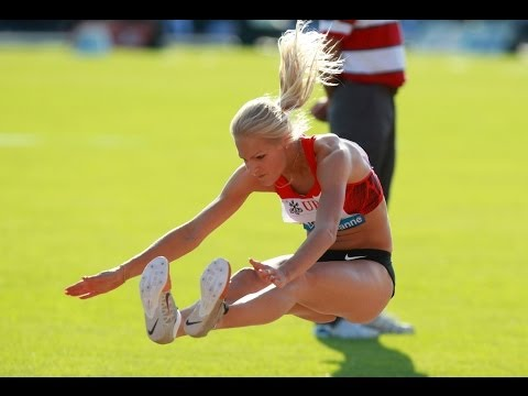 Darya Klishina Дарья Клишина 2011 7  Diamond League Lausanne, Birmingham, Monaco