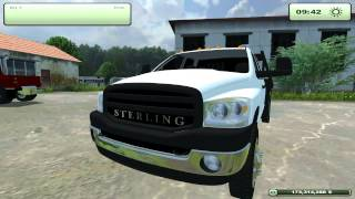 Farming Simulator 2013- Sterling 5500, Dodge 3500, Ford F