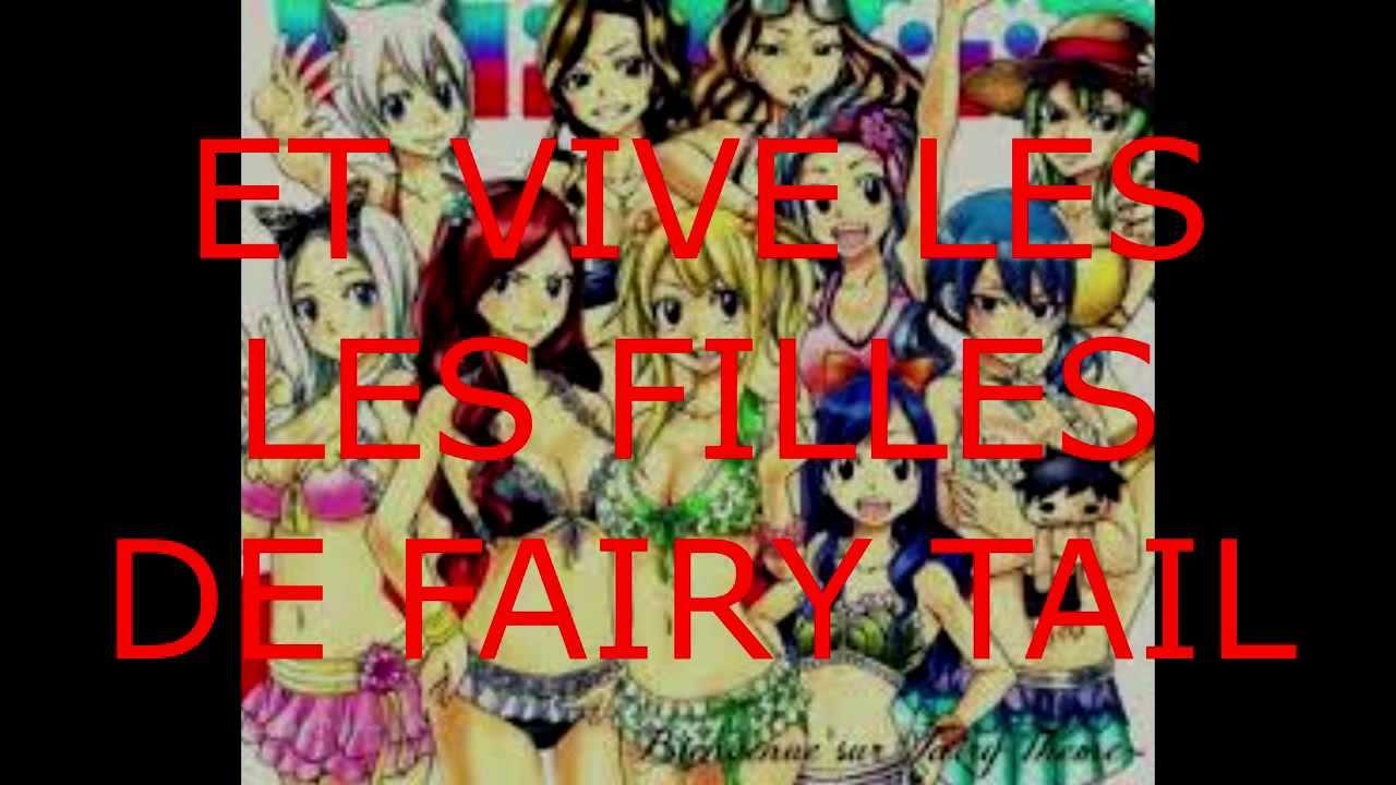 Les plus belle filles de fairy tail youtube - Fille fairy tail ...