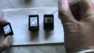 Tintenpatrone HP 901 / 901 XL Befüllen