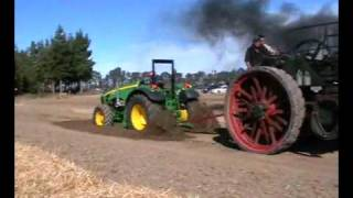Old Tractor Vs. New Tractor
