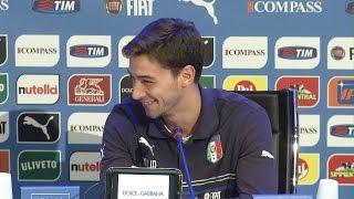 Ranocchia e De Sciglio, siparietto in conferenza stampa