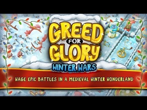 Greed For Glory: Winter Wars Android GamePlay