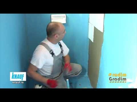 KNAUF - uputsvo za primenu - Izrada kupatila 1