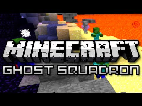 Minecraft: Ghost Squadron w/ Friends Part 1 (Mini Game)