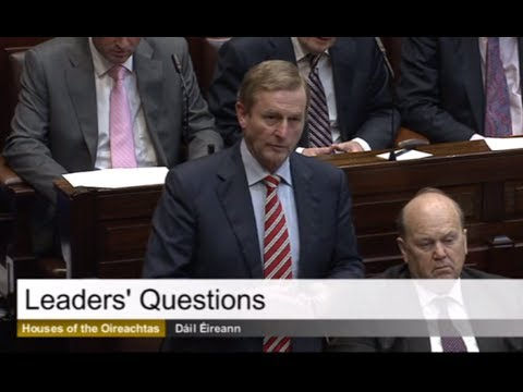 Taoiseach Enda Kenny Withdraws Remark