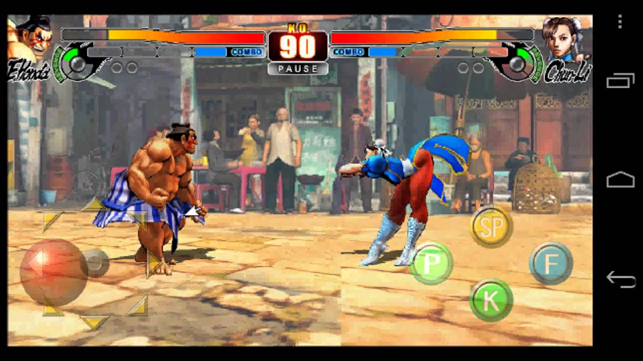 (Aporte) Street Fighter IV HD android apk MEGA