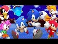 Sonic Mania Mods More Characters Mod 7 Playable Characters New Teams