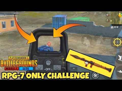 PUBG MOBILE LITE *RPG-7* ONLY CHALLENGE || FUNNY MOMENTS