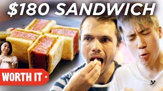 $6 Sandwich Vs. $180 Sandwich