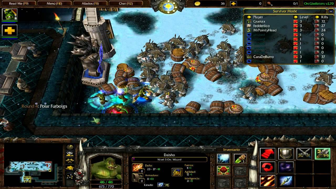Карты dota для warcraft 3