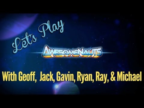 Let's Play Awesomenauts