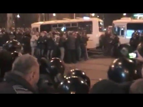 Violent Clashes In Donetsk, Eastern Ukraine. March 13, 2014