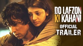 do lafzon ki kahani trailer, Randeep Hooda, Kajal Aggarwal, DO LAFZON KI KAHANI trailer 2