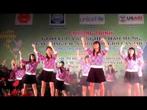 K62b nhảy dân vũ Vũ điệu rửa tay - Makarena - Gummy bear