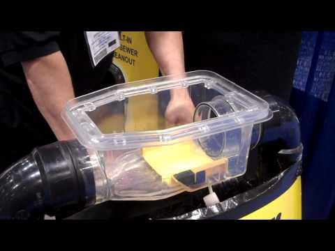 Demo of Sewer Backflow Prevention Device at ACE 2010