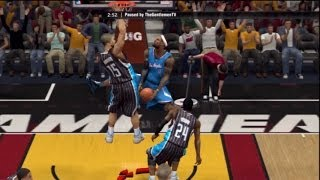 NBA 2K14 My Team - Lebron goes HAM